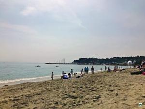 Spiaggia di Varazze - Cocco on the road