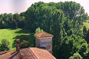 Castello di Padernello vista dal Mastio - Cocco on the road