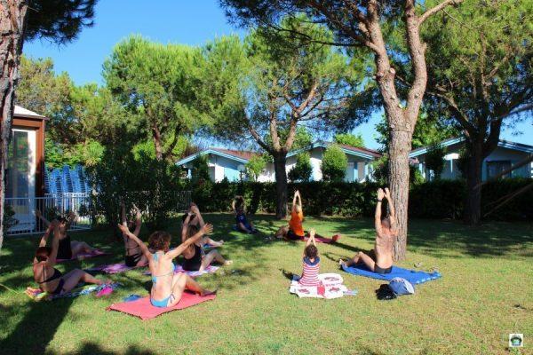 Pilates al Centro Vacanze de Angelis