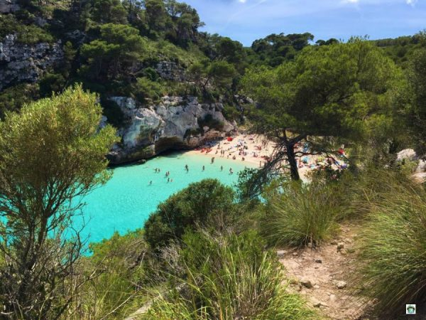 Minorca spiagge cosa vedere Cala Macarelleta