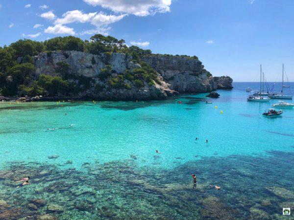 Cosa fare e vedere a Minorca spiagge