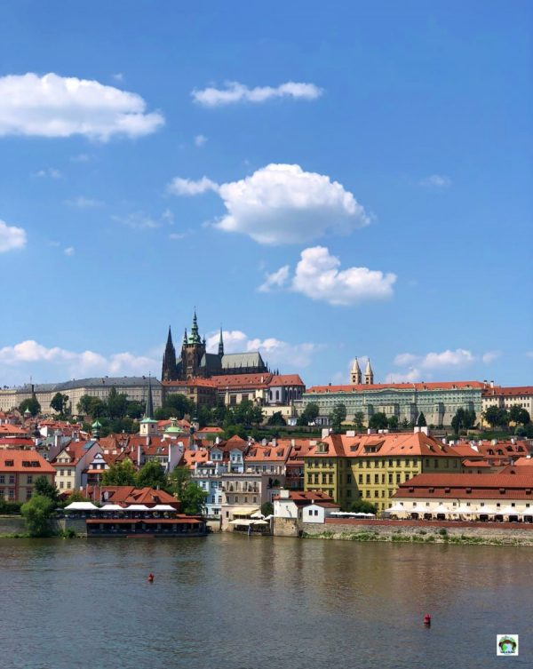 Panorama romantico a Praga