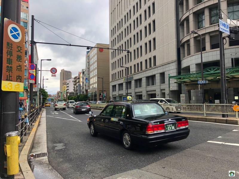 Costo dei taxi in Giappone