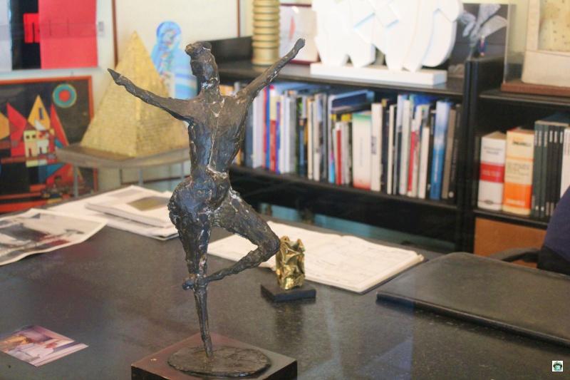 La ballerina arte contemporanea Rossini Art Site