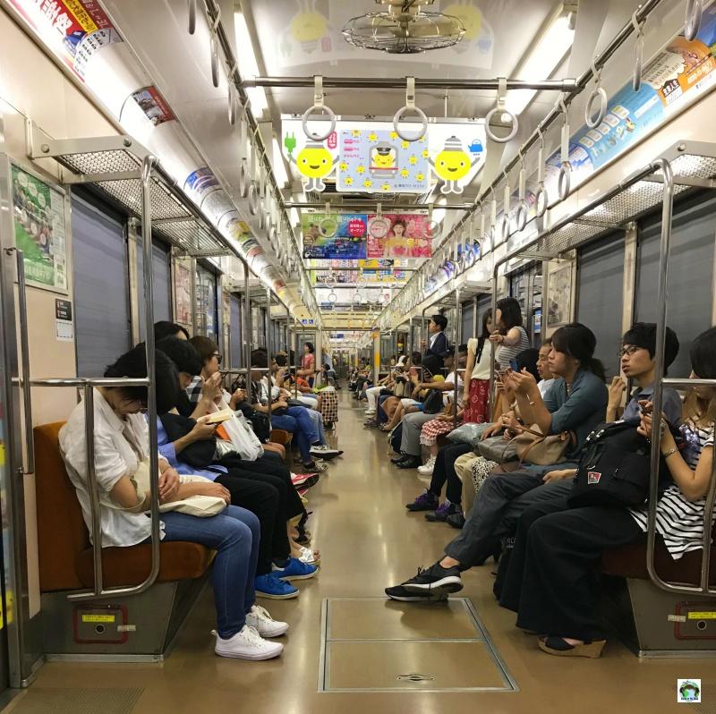 La metropolitana in Giappone