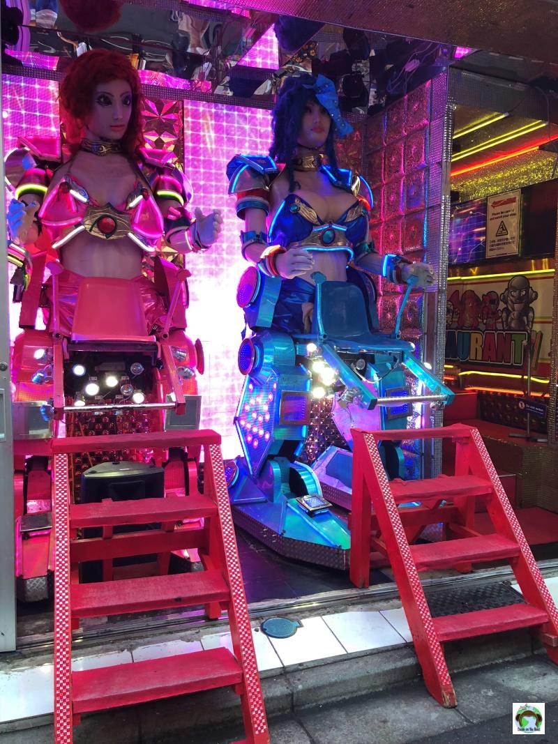 Robot bar a Tokyo