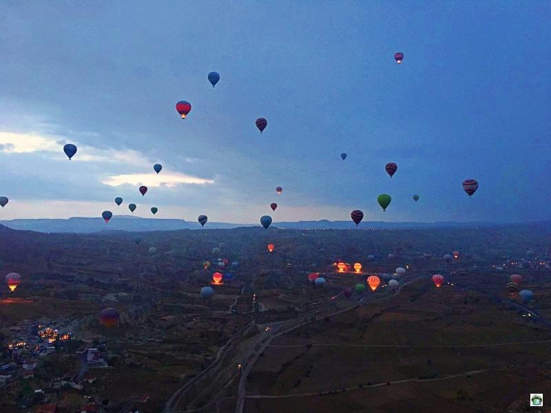 Come prenotare un giro in mongolfiera Cappadocia