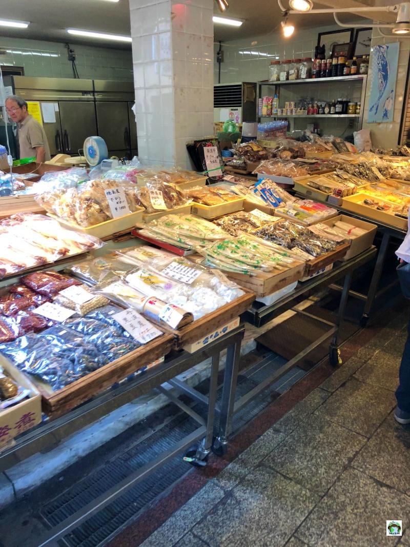 Dove mangiare a Kyoto Nishiki Market
