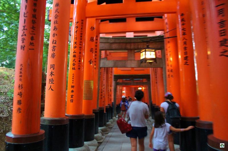 Il Tempio di Fushimi Inami Taisha