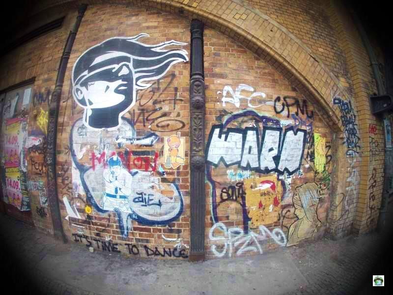 Street art muro di Berlino