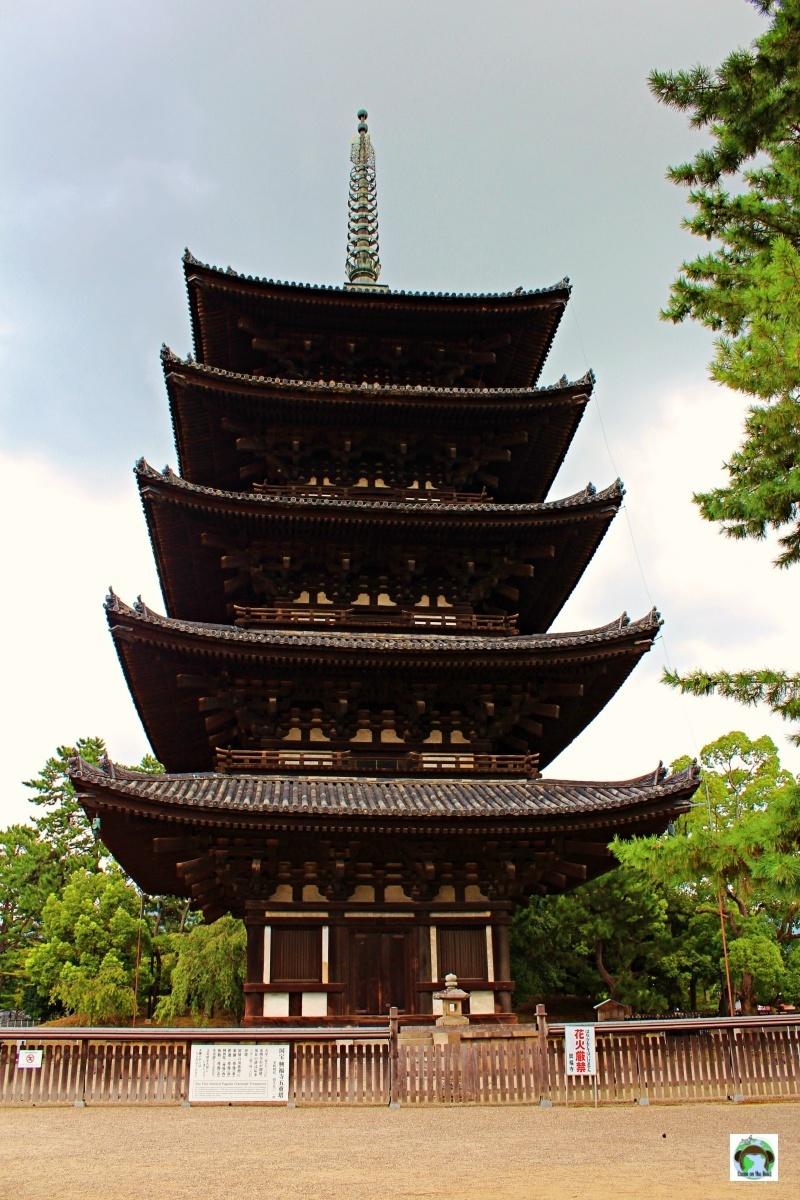 Visitare a Nara Tempio Kofukuji