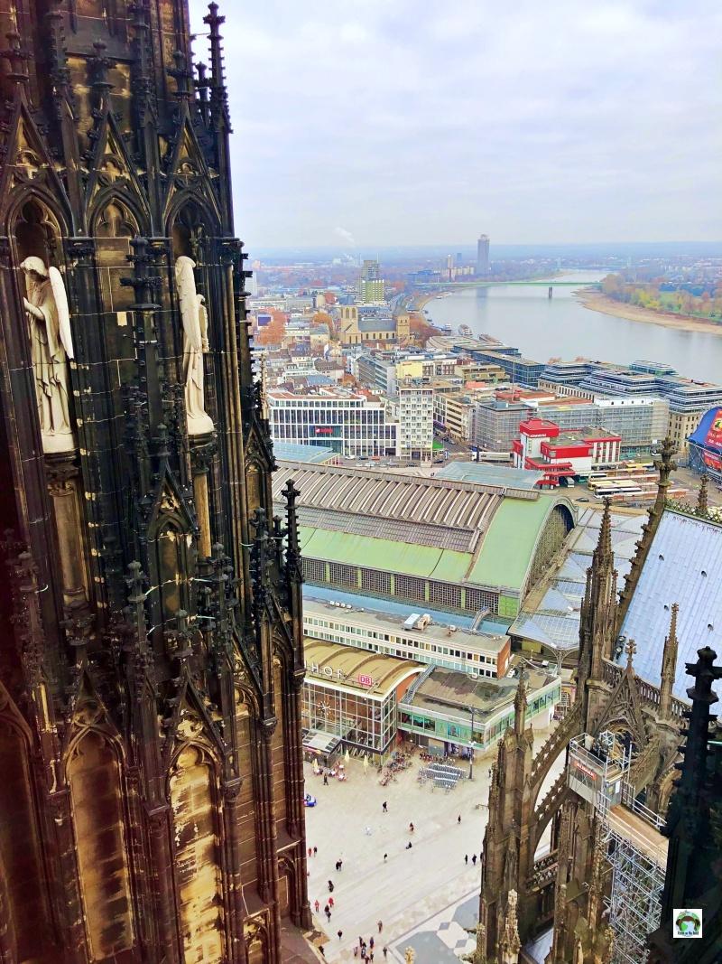 Come vedere il panorama dal Duomo di colonia