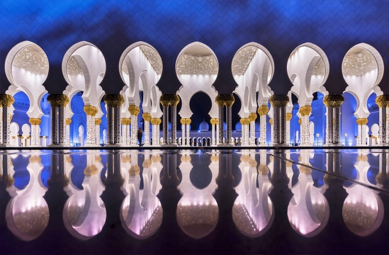 Architettura islamica Abu Dhabi