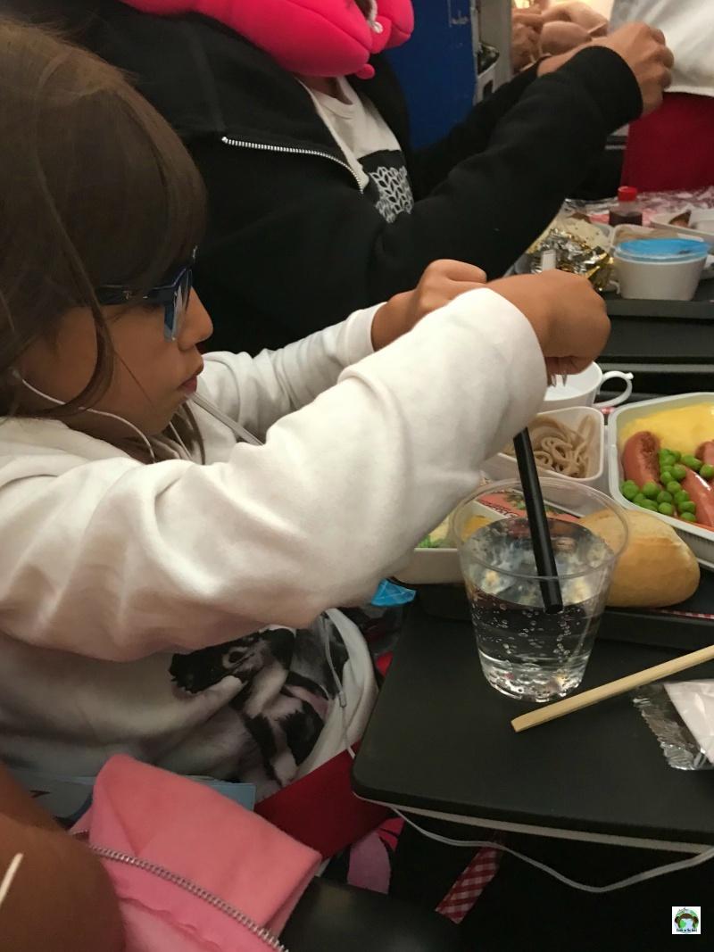 in aereo con i bambini viaggio in Giappone