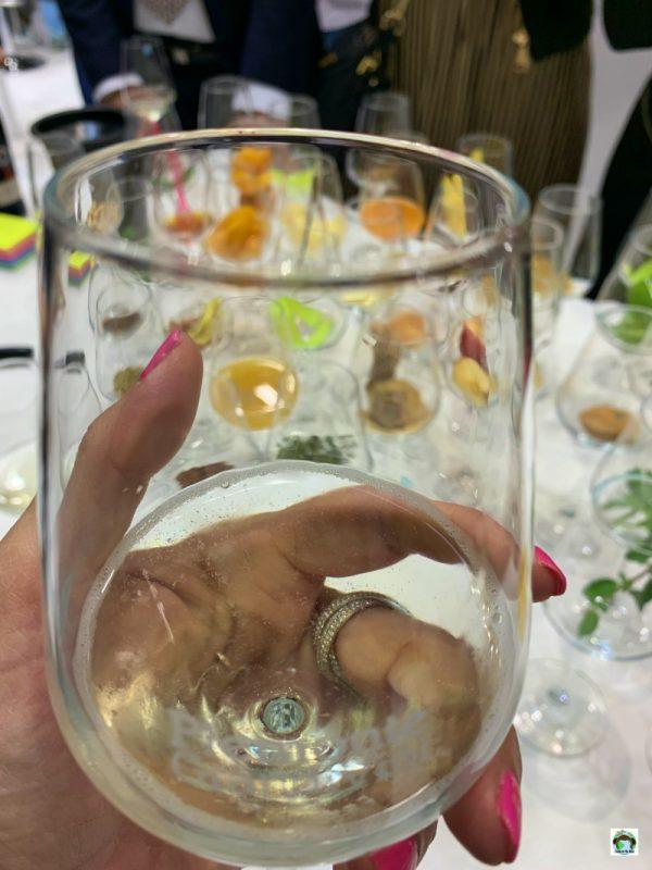 bicchiere di vino Asti