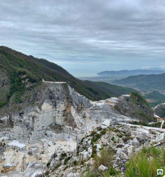 cave marmo Colonnata Toscana