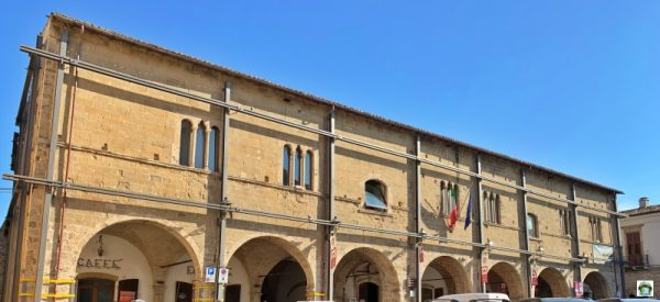 palazzo parlamento Campli facciata