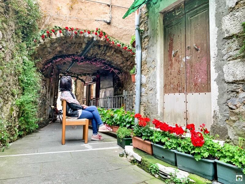 Colonnata borgo fiori