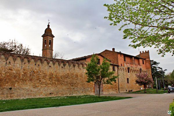 mura del borgo medievale