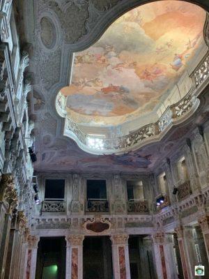 affresco sala Ridotto Teatro Grande