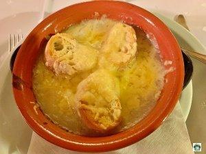 Zuppa cipolle La Cà Vecchia Rea