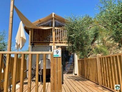 struttura tenda glamping Vallicella Resort