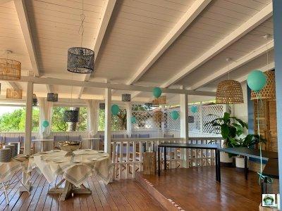 terrazza ristorante Vallicella Glamping Resort