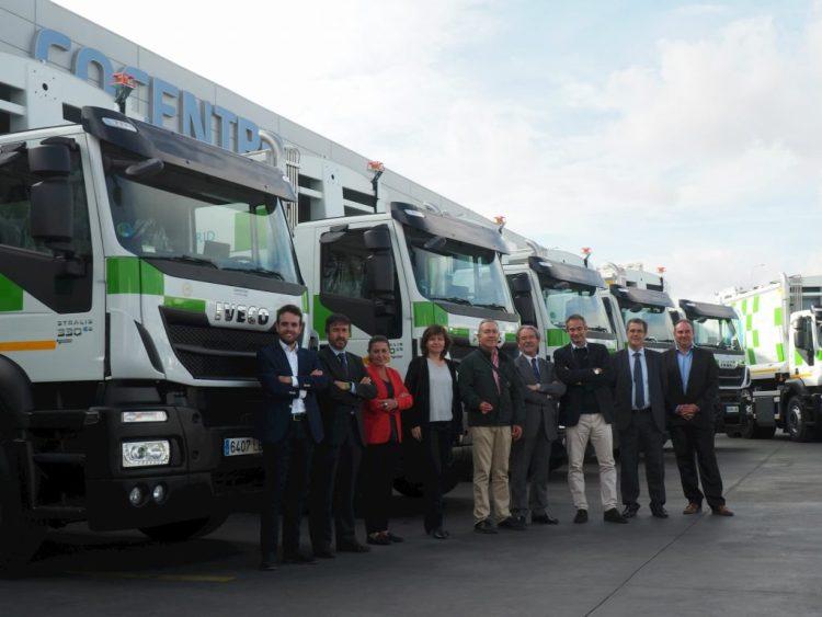 El Iveco Stralis de gas natural recogerá los residuos urbanos de Madrid