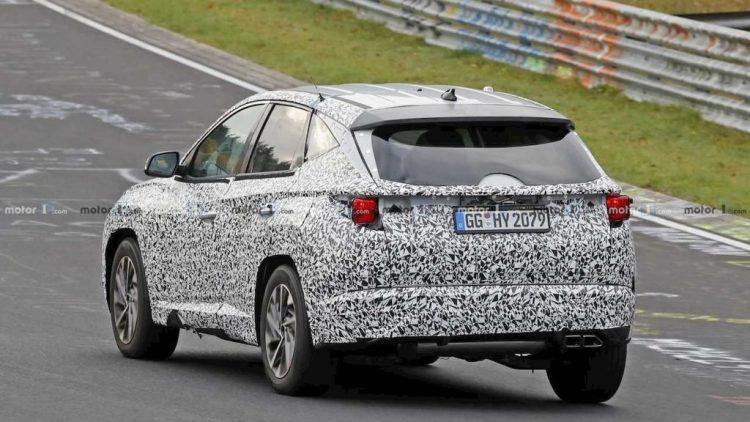 Hyundai Tucson espiado en Alemania