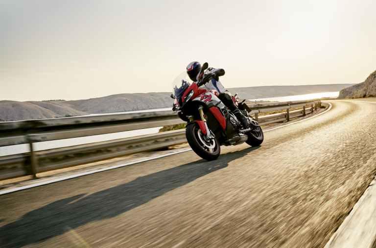 La velocidad de la BMW S 1000 XR