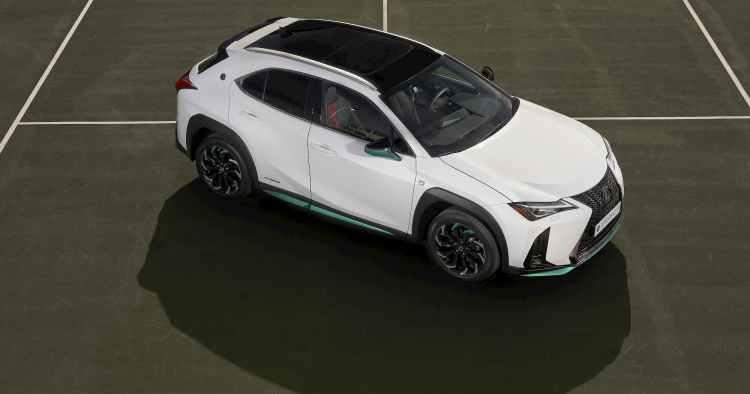 asi es el nuevo Lexus UX 250h Tennis Cup