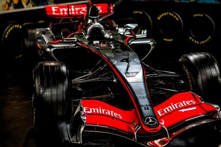 el mercedes de 2019 de Lewis Hamilton