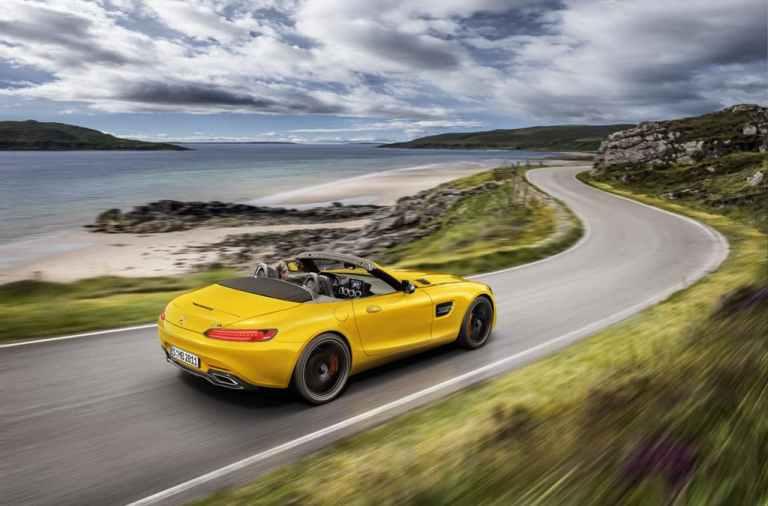 fotos del Mercedes-AMG GT S Roadster