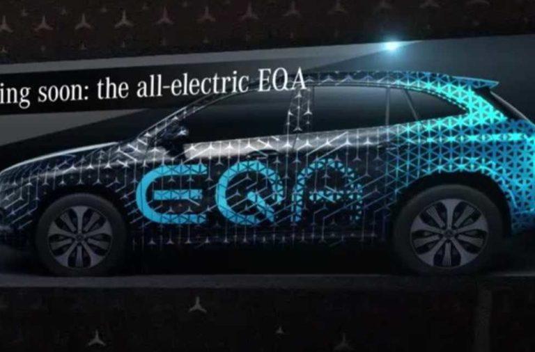 Mercedes EQA llegará en 2020 el nuevo crossover eléctrico