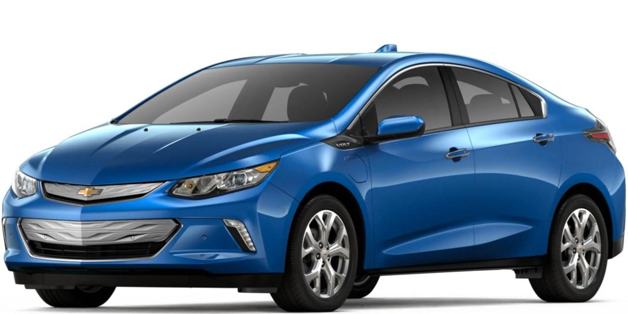 Chevrolet volt coche eléctrico
