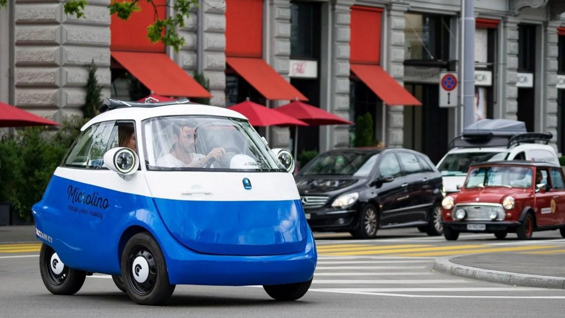 microlino, el coche eléctrico de puerta delantera