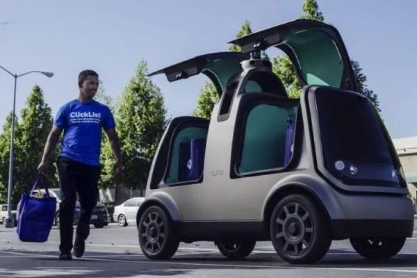 coche electrico autonomo y repartidor Nuro
