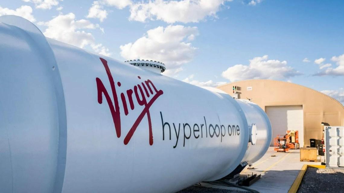 hyperloop one virgin