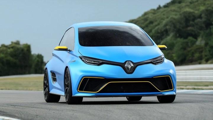 Renault ZOE RS: el deportivo eléctrico de la marca francesa