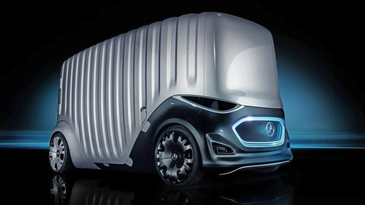 Mercedes-Benz Vision Urbanetic: la furgoneta modular eléctrica del futuro