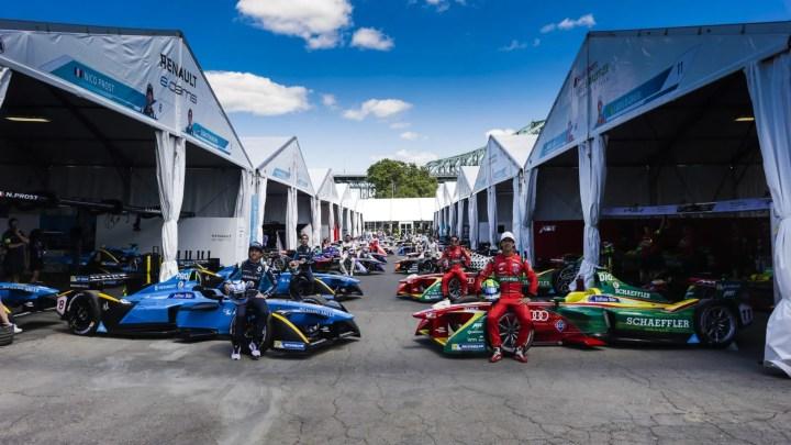 Lista completa de equipos y fabricantes de la Formula E inscritos para la quinta temporada