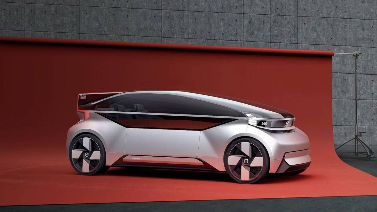 Volvo 360C coche eléctrico y autonomo