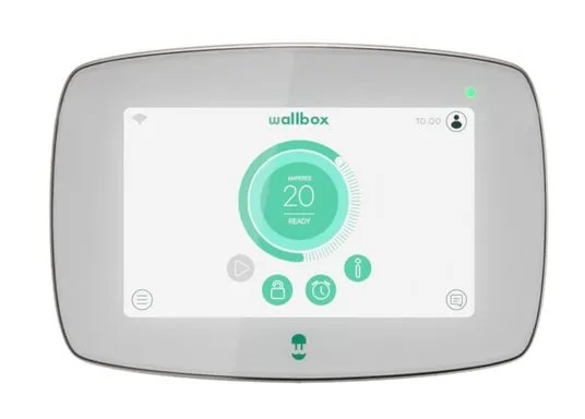 ⚡ Wallbox Commander 2 ⚡: siempre conectado, Wi-Fi, Ethernet o Bluetooth ✅