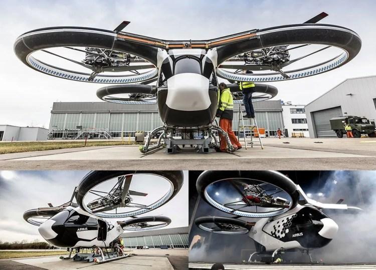 CityAirbus, la división del fabricante de aviones de coches voladores