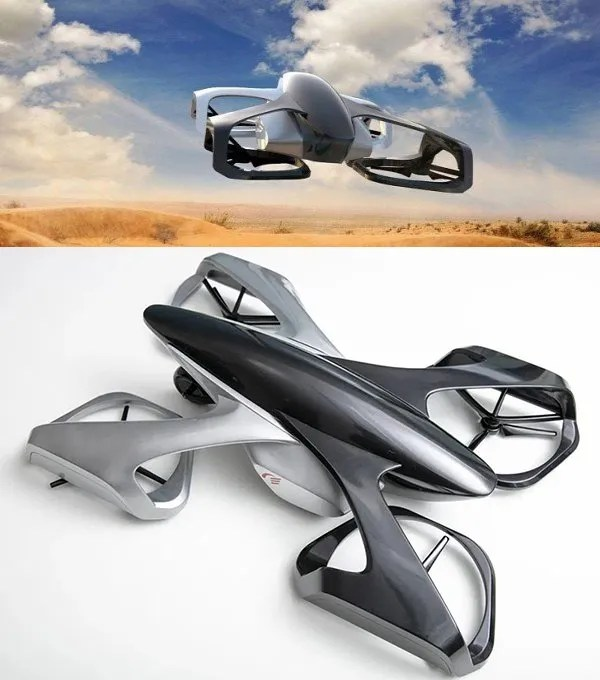 SkyDrive car Coche volador de Toyota