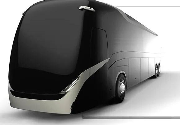¿Cómo será el autobús del futuro?