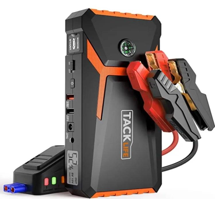 tacklife T8 arrancador de bateria