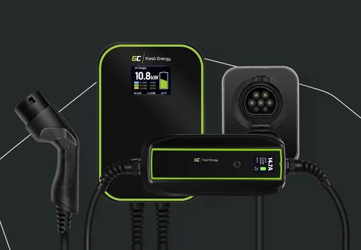 Cables, cargadores y Wallbox de Green Cell