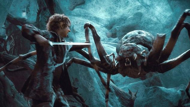 As Se Hizo La Escena De Las Araas De The Hobbit The