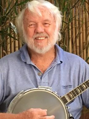 Bob playing the Banjo...